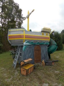 Children's Pirate Ship (Philladelphia, PA) Playhouse