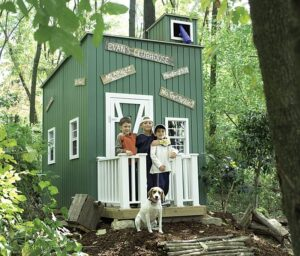 Lil' Raskals' Lookout Playhouse, Residential Playhouse