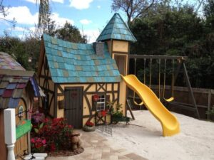 Playhouse with Slide (Orlando, FL)