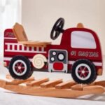Red Hot Fire Engine Rocker for playhouse