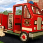fire truck Large playhouse