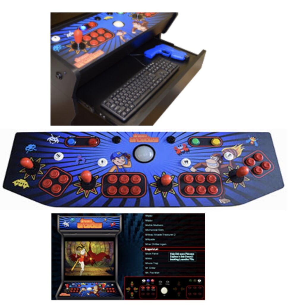 Vision 40 Arcade, Video Games, Video Game