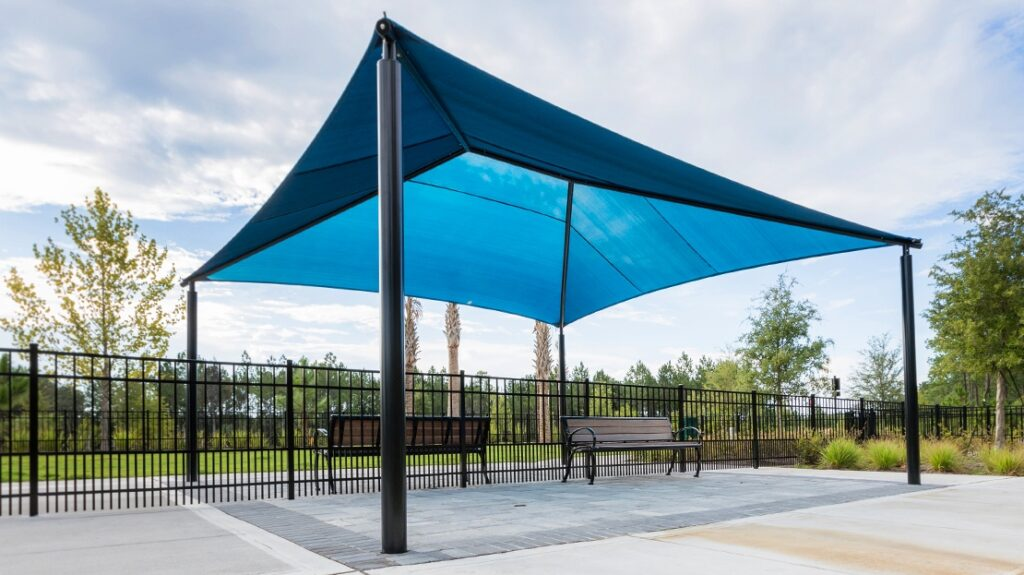 Shade Structure, Square Hip Shade