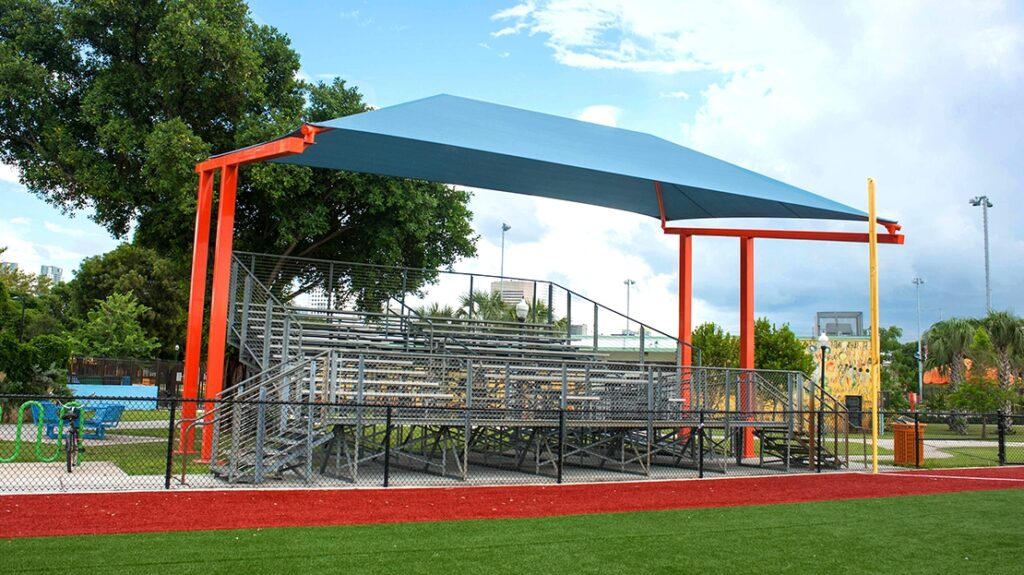 Standard Cantilever Shade, Cantilever Shade, Cantilever Shade Structure
