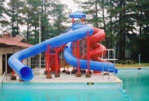 Commercial Pool Slide - Model PS 3400