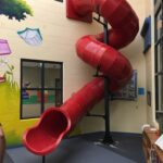 Indoor Slide: 13 Foot 10 Inches