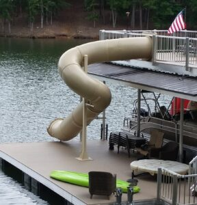 Lake Slide 270 Degrees Custom Spiral