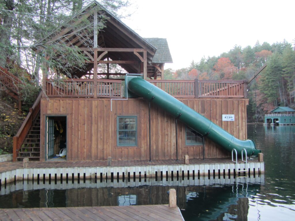 Lake Slide 90 Degree, custom slide