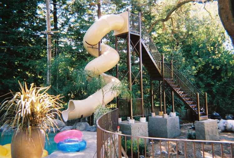 Pool Slide 2000 View 2