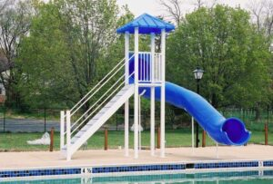 Residential Pool Slide – Model PS 1500