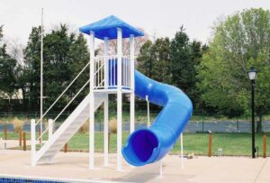 Residential Pool Slide – Model PS 1500 (B)