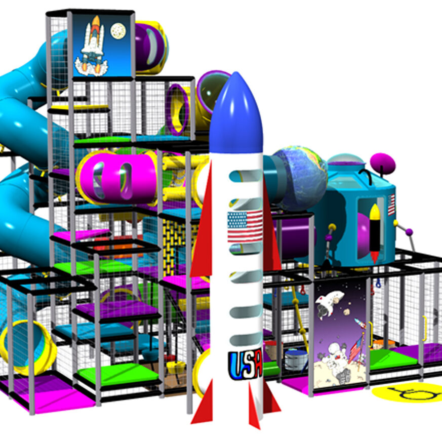 commercial playground equipment, indoor playground equipment, Contained Play, IPC1152